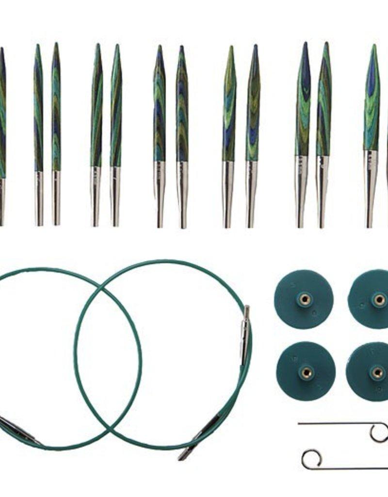 Knitpicks Options Short Interchangeable Caspian Needle Set US 4-10