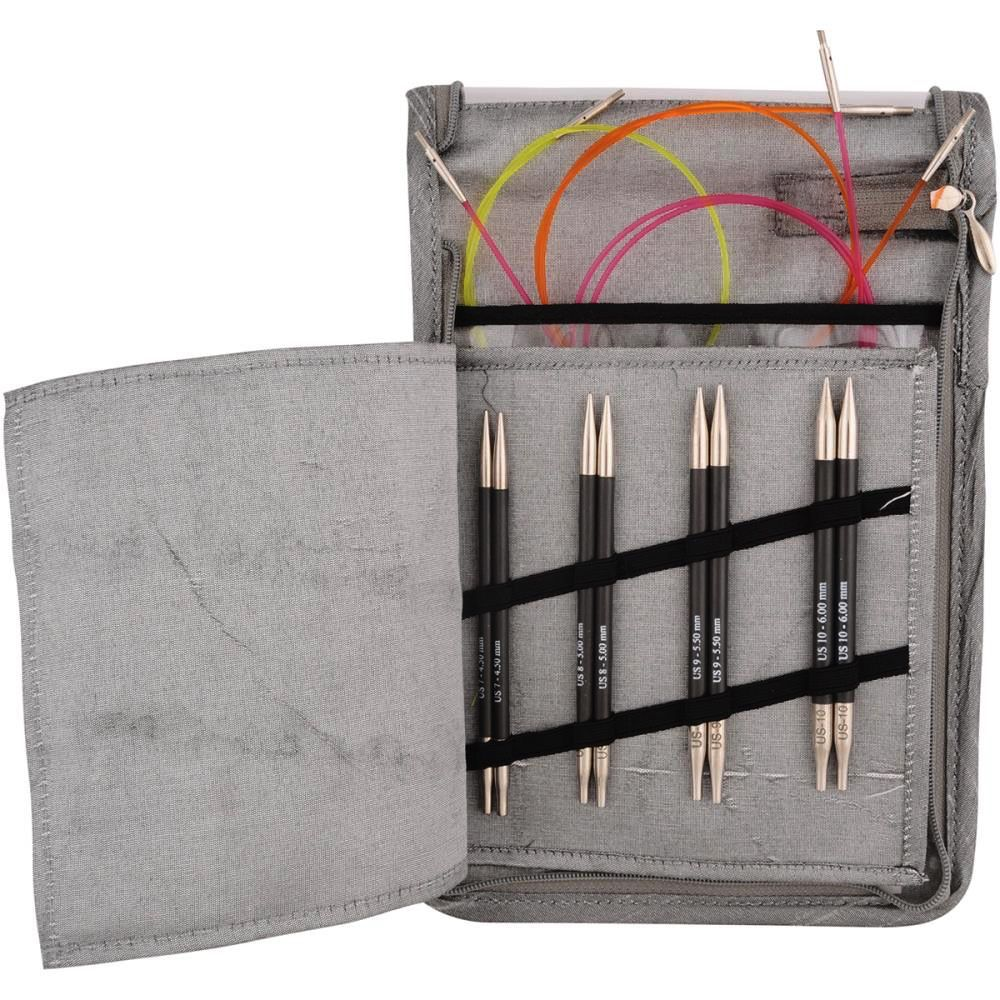 Knitter's Pride Karbonz Deluxe Interchangeable Needles Set