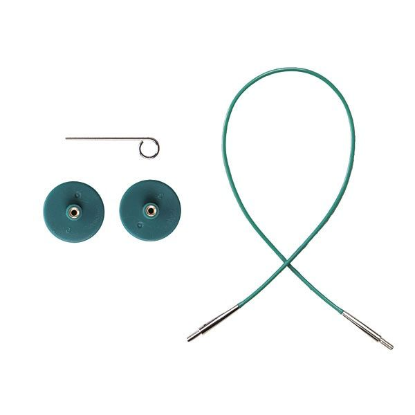 Knitpicks Green Single Pack IC Cable - 16inch