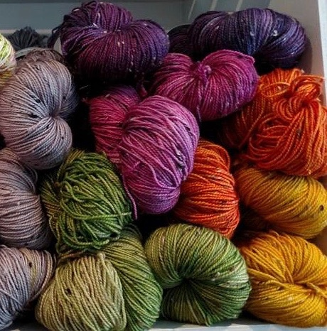 Faeriegrl Yarns Faeriegrl  Yarn - Tweed