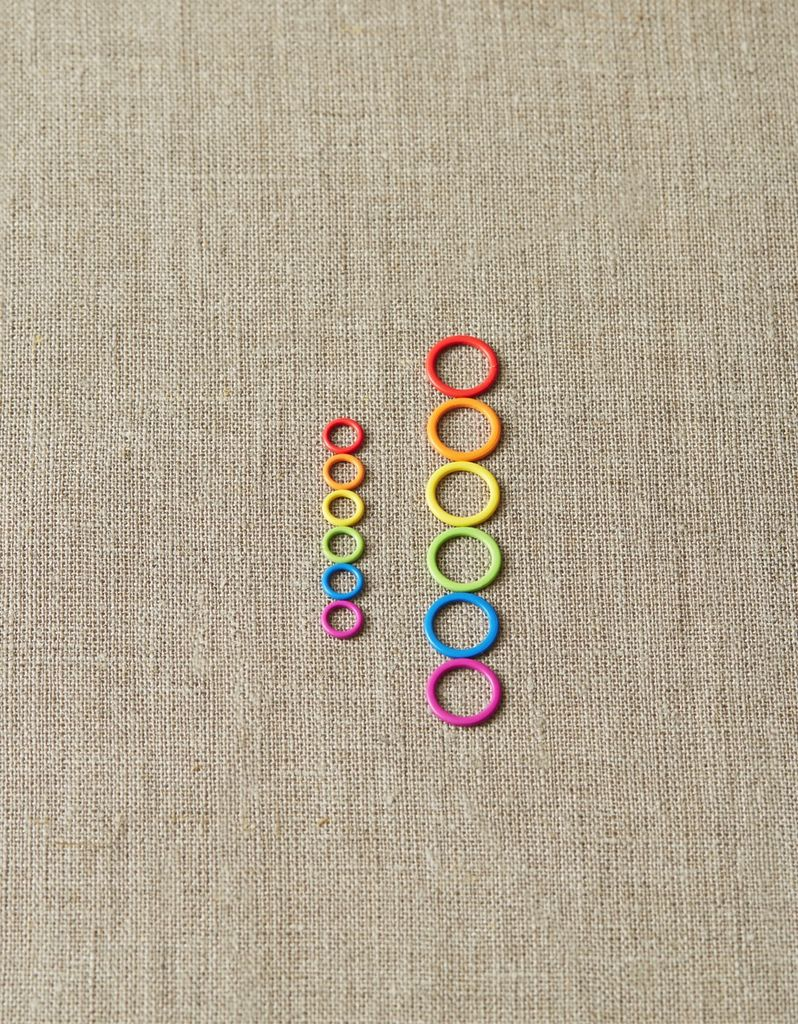 Cocoknits Colored Stitch Markers by Cocoknits