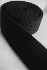"Notions Marketing 1.5"" black cotton webbing"