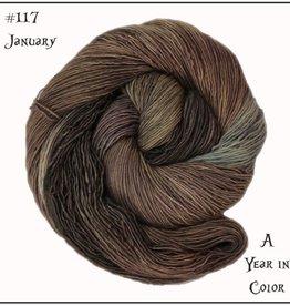 Frabjous Fibers Wonderland Yarn of the month - Mad Hatter