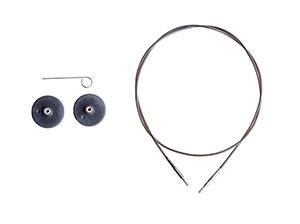 Knitpicks Black Single Pack IC Cable