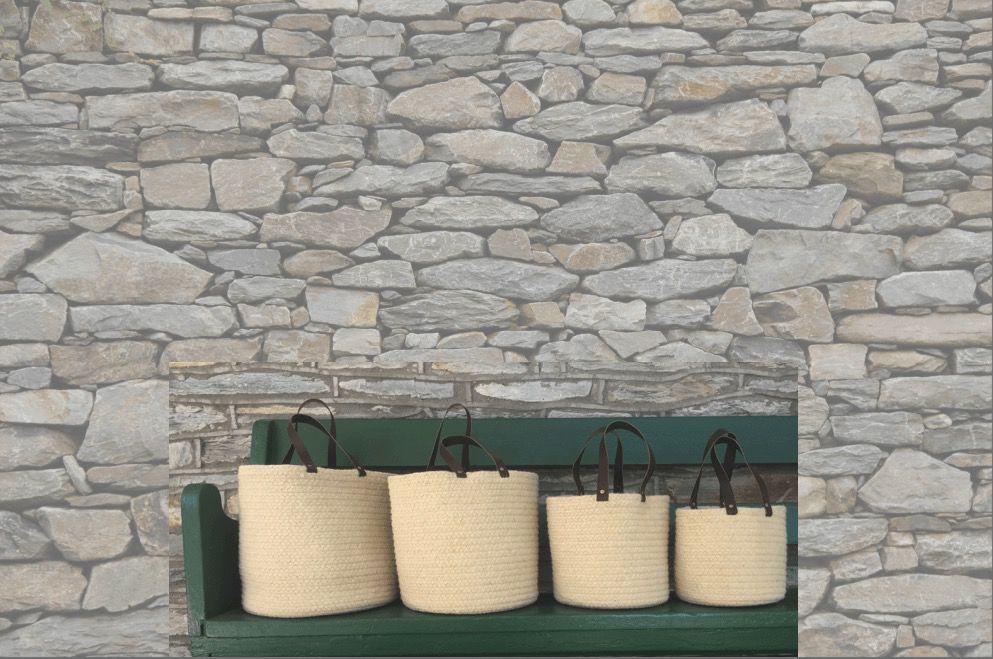 Aalta Yarn Panipat Wool Basket