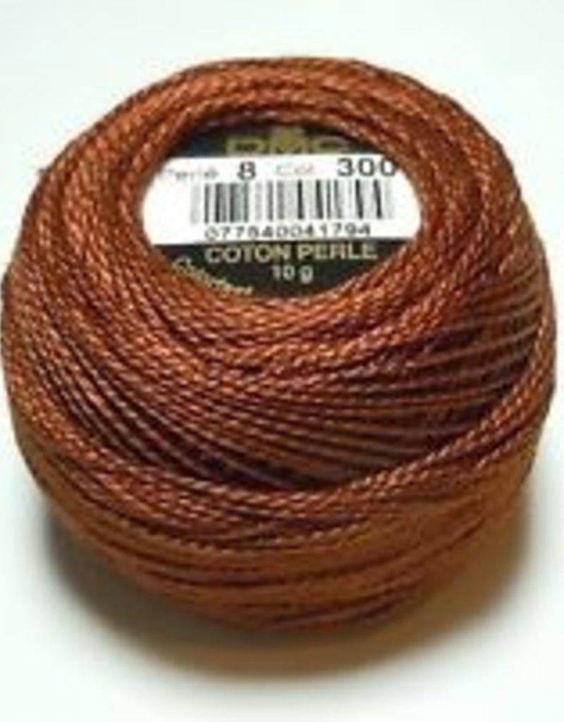 DMC Pearl Cotton Balls Size 8 - 87 Yards,  Very Dark Mahogany