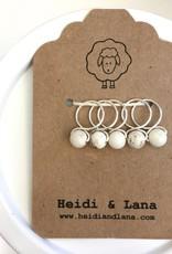 Heidi & Lana Heidi and Lana Stitch Markers