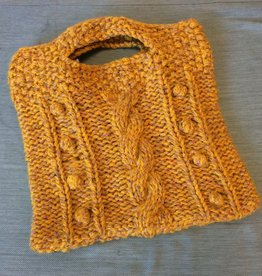 Cabled Bobble Bag with Fabric Lining -Tuesdays, September 5 & 12th, 6-8pm