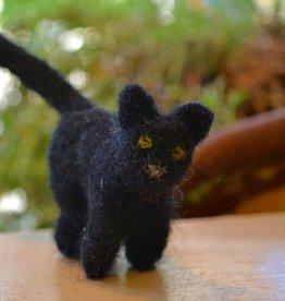 Needle Felt: Black Cat <br /> Saturday, September 24th, 12 pm-2 pm