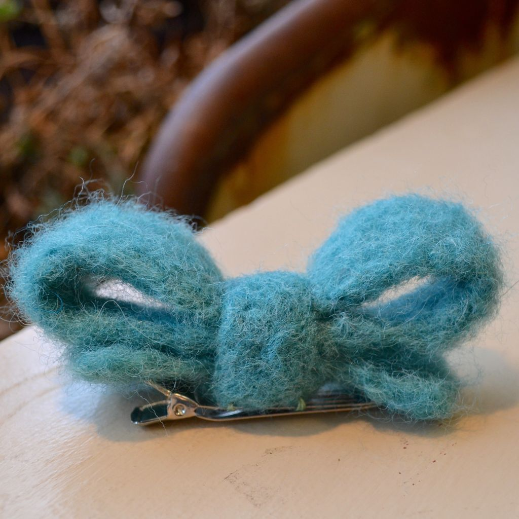 Needle Felt: Hair Bow - Saturday, October 14th, 11 am-1 pm