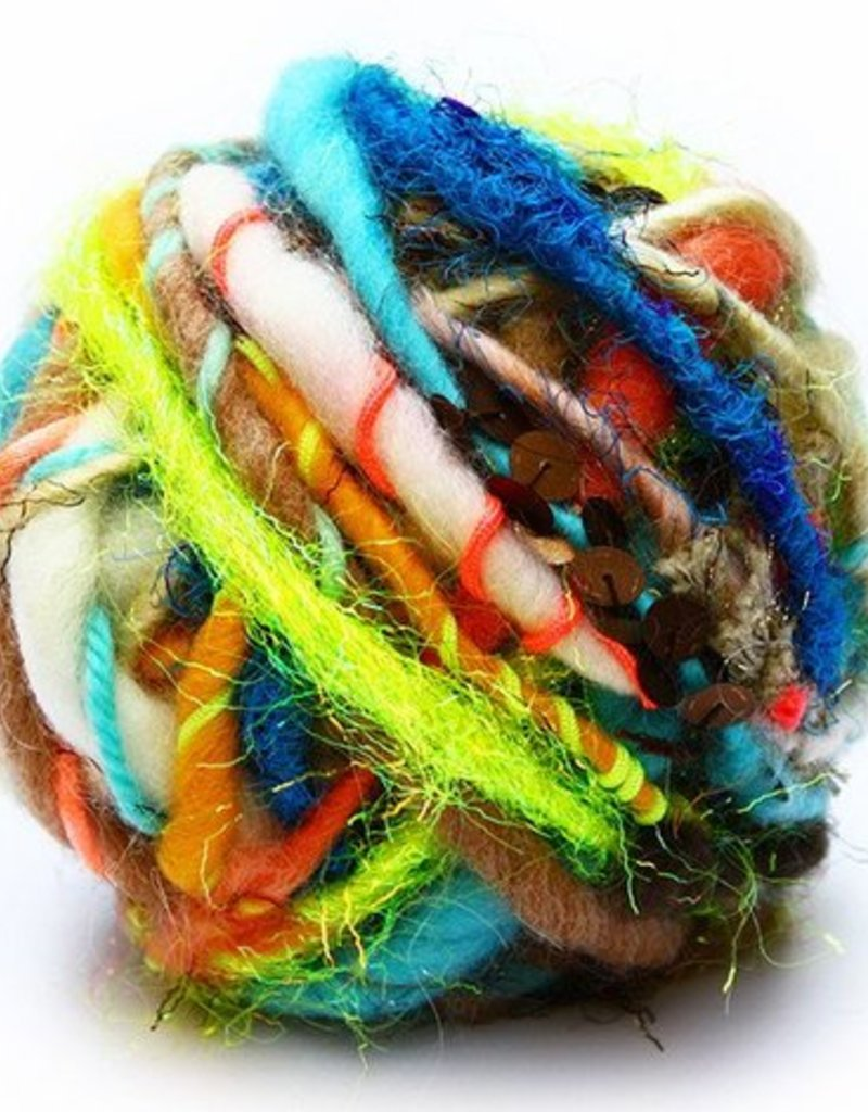 Knit Collage Rolling Stone by Knit Collage
