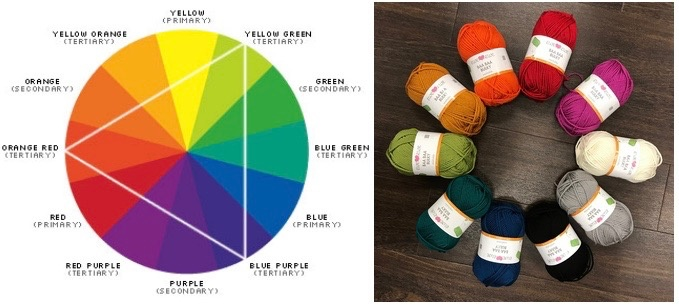 Color Theory Sit & Stitch,  Friday, February 9th, 6-8pm