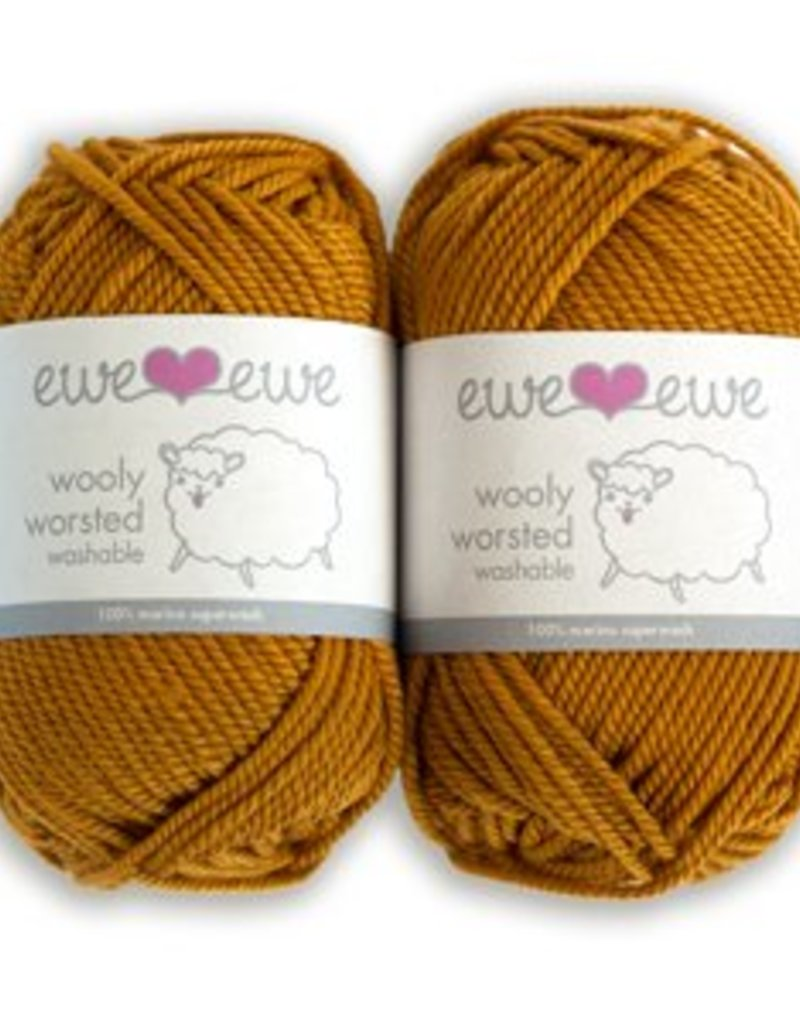 Ewe Ewe Wooly Worsted by Ewe Ewe Yarns - Reds, Yellows, & Pinks