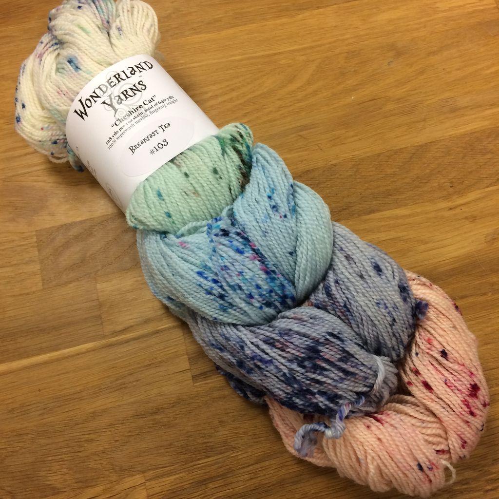 Frabjous Fibers Color Collection - Speckles - Cheshire Cat