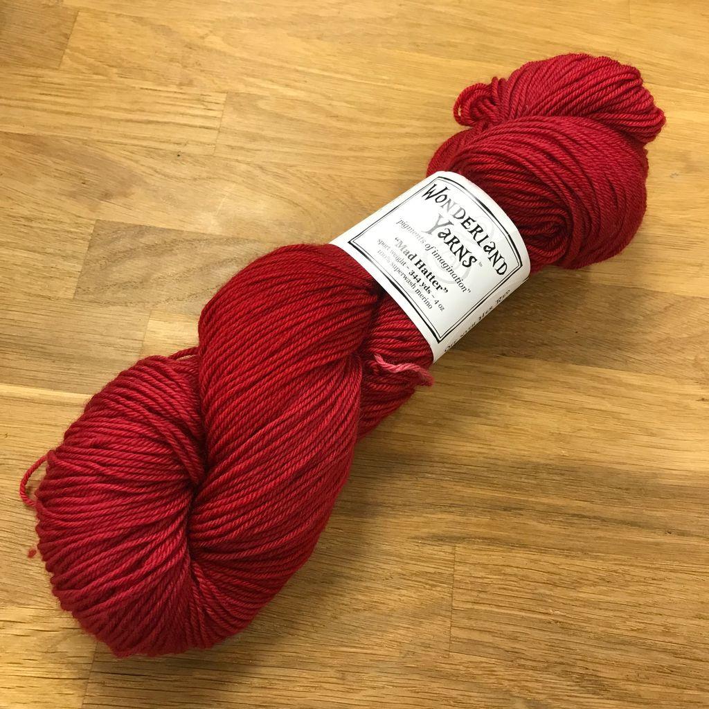Wonderland Yarn Mad Hatter by Wonderland Yarn - Reds