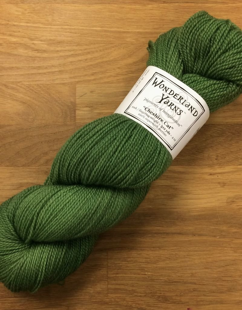 Wonderland Yarn Cheshire Cat by Wonderland Yarns - Greens & Yellows