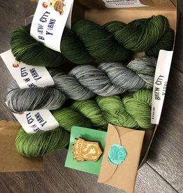 Brew City Yarns Brew City Yarns Harry Potter House Sorting Shawl Kit