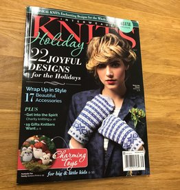 F&W Publications Interweave Knits Holiday 2017
