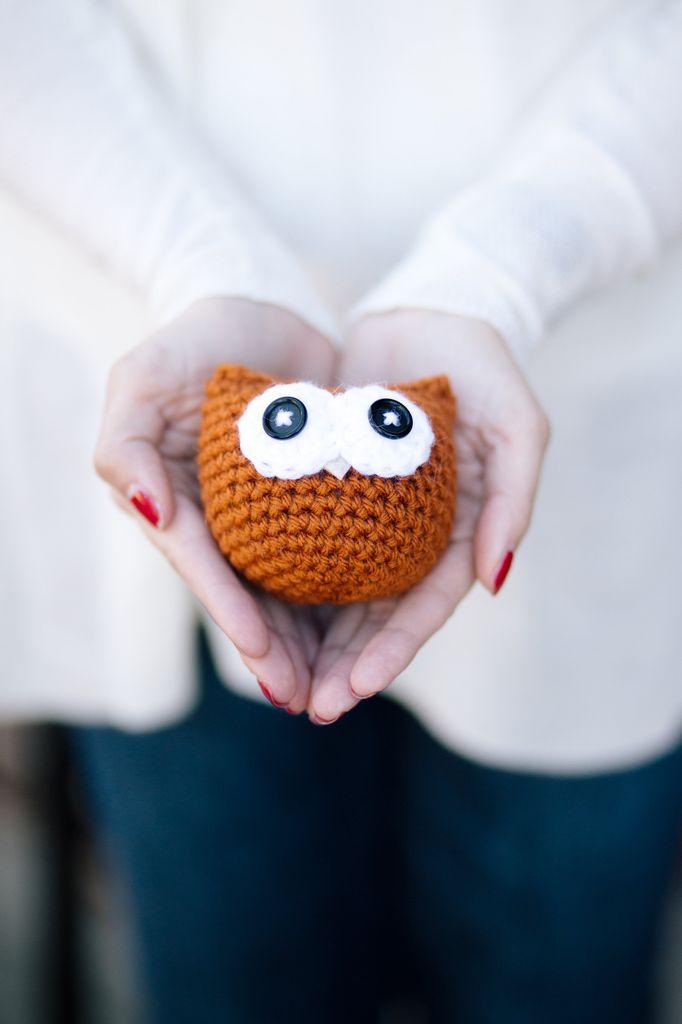 """Owlbert"" the Amigurumi Owl - Saturday, December 16th, 3-4:30pm"