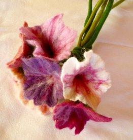 Wet Felt Flower<br /> Saturday, December 16th, 11:30am-2:30pm