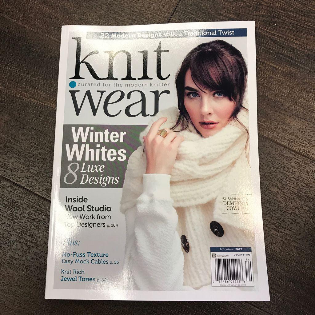 Interweave Knit.wear Magazine Fall 2017