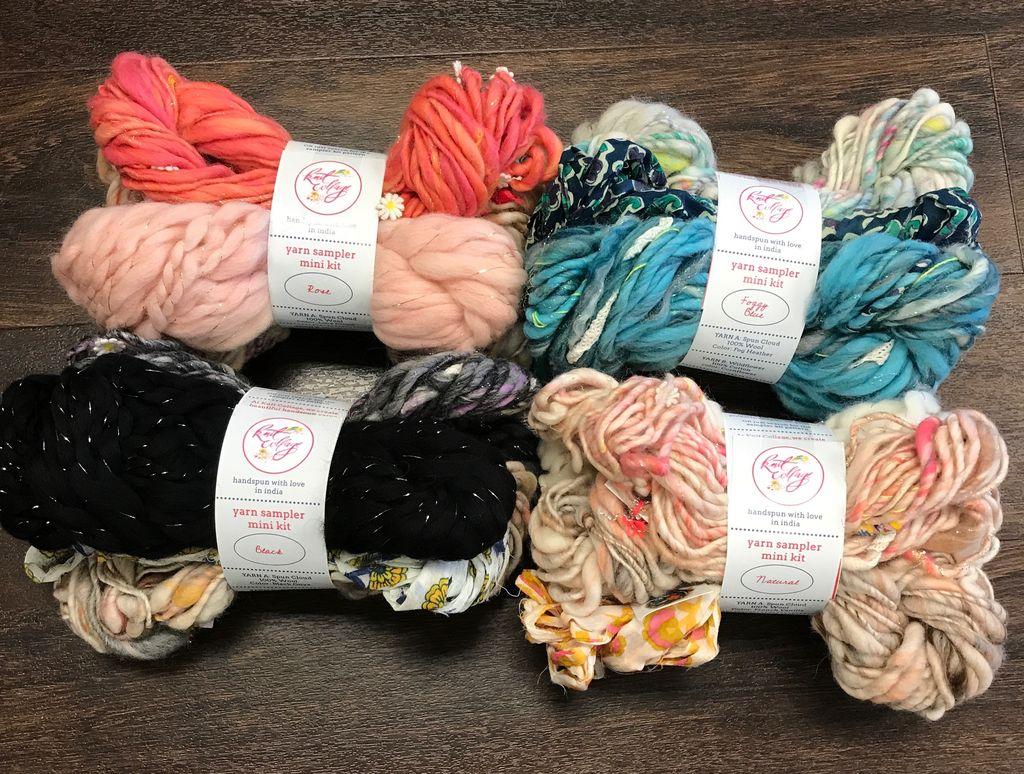 Knit Collage Knit Collage Mini Yarn Sampler Kit
