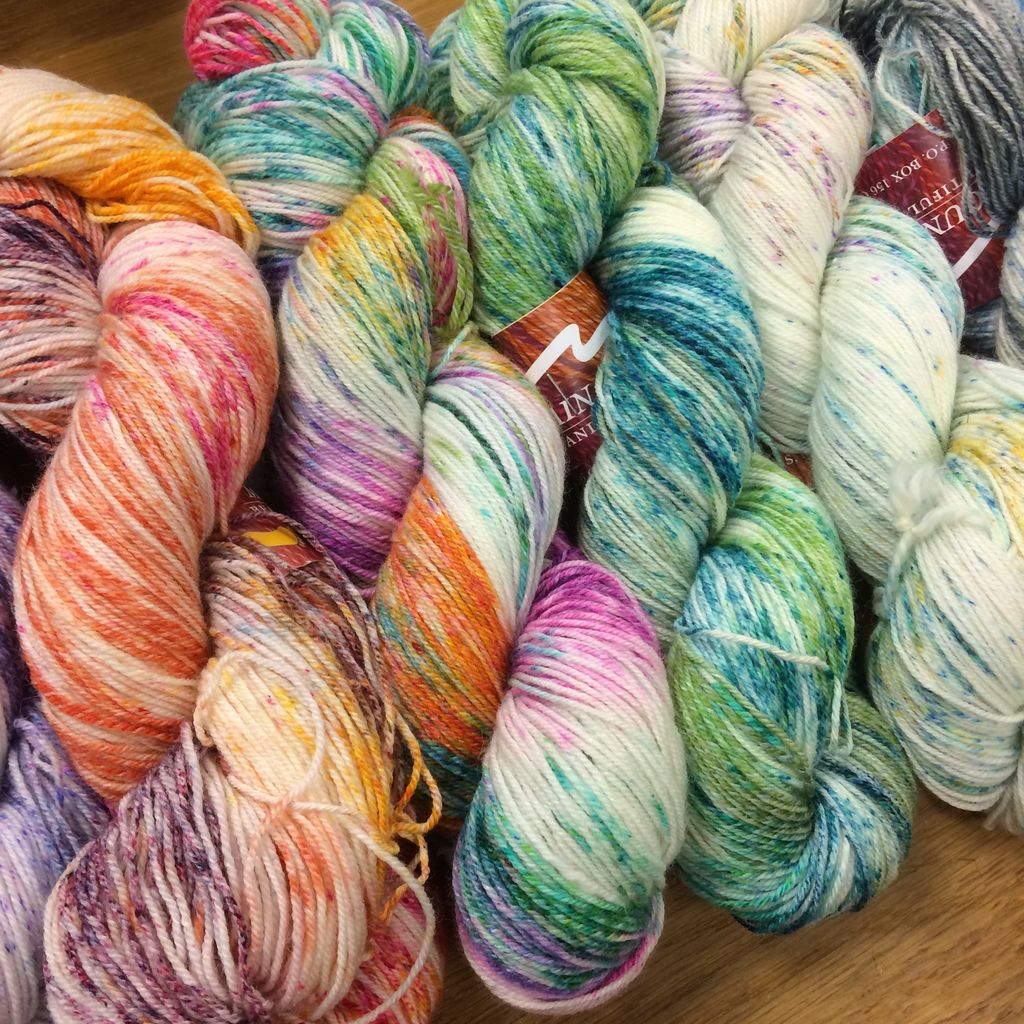Mountain Colors Twizzlefoot by Mountain Colors - Speckles