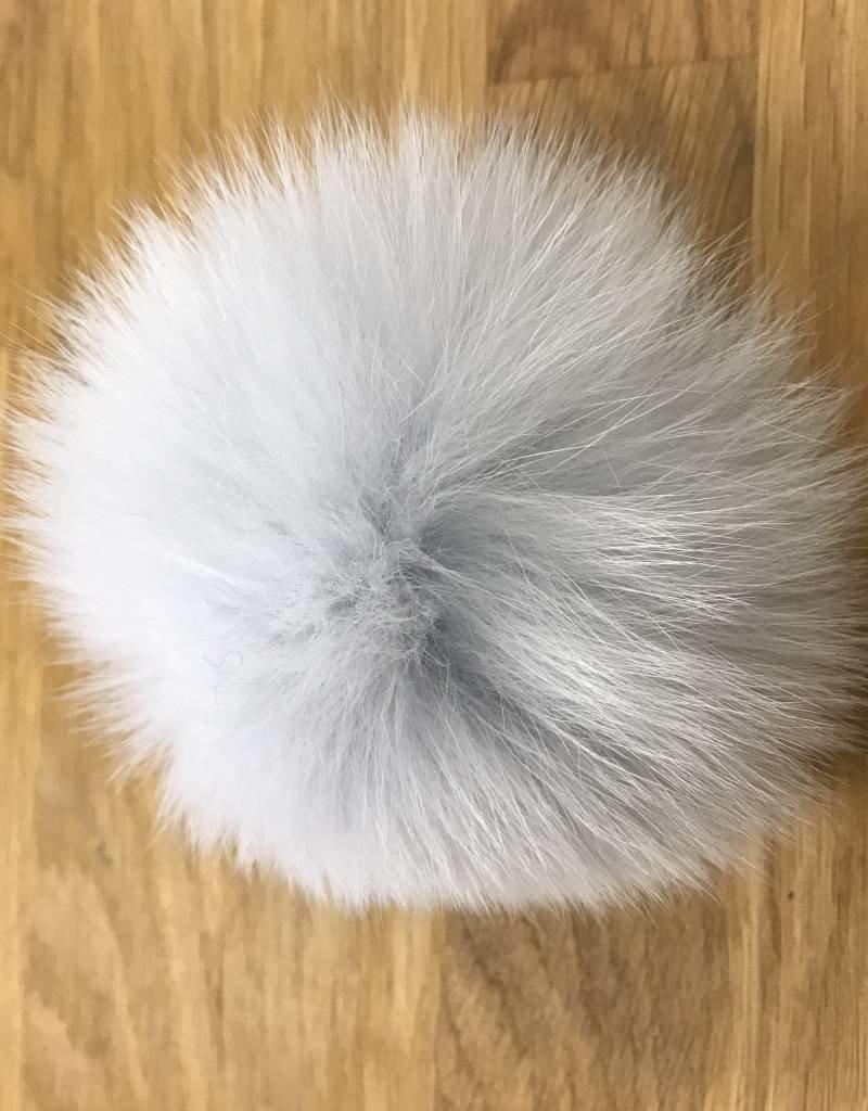 """Yarn it & Haberdashery Fox Fur 3.4"""" Pom Pom"""