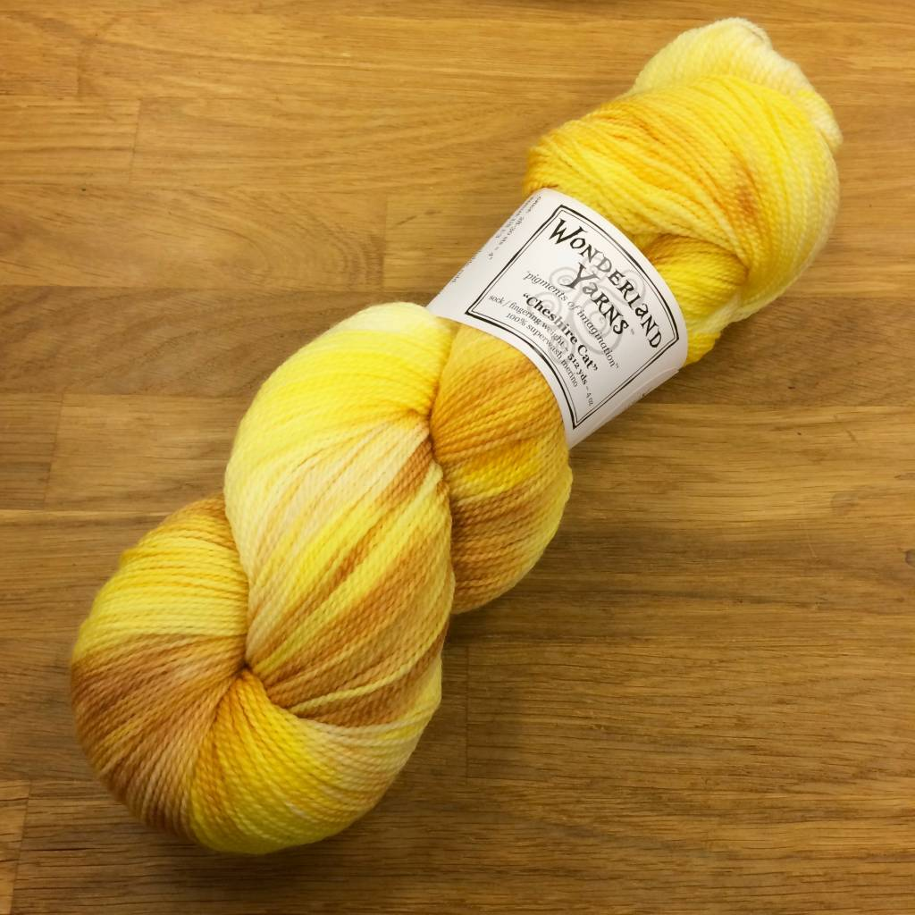 Wonderland Yarn Wonderland Yarn of the month - Cheshire Cat