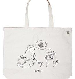Knitpicks Sheep and Kitten Tote Bag