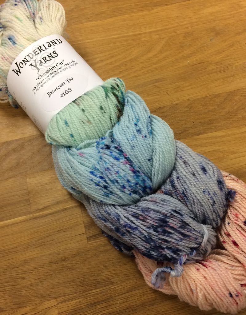 Wonderland Yarn Color Collection - Speckles - Cheshire Cat
