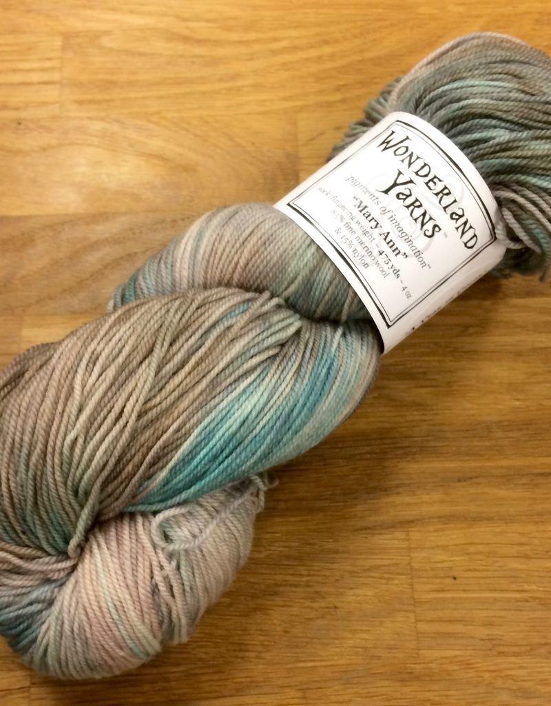 Wonderland Yarn Wonderland Color of the Month - Mary Ann
