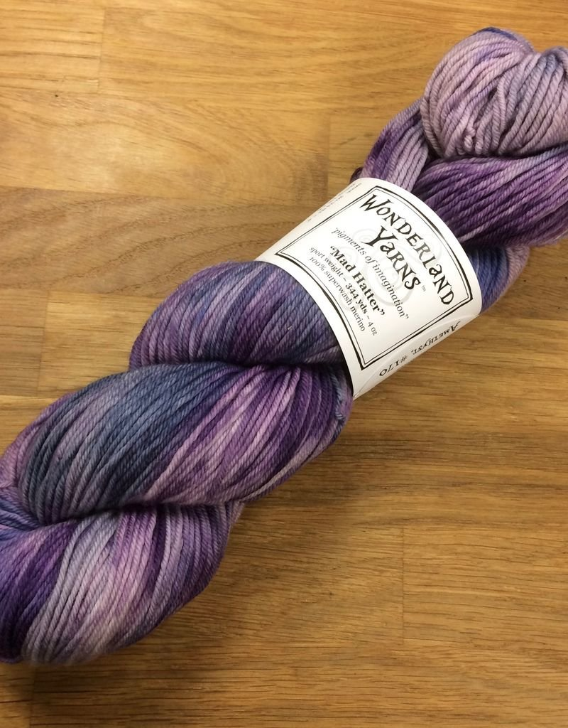 Wonderland Yarn Wonderland Color of the Month: Birthstones - Mad Hatter