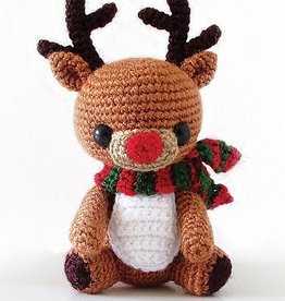 Rudy Reindeer, Christmas in July amigurumi! Saturday, July 21 & 28th, 3-5pm