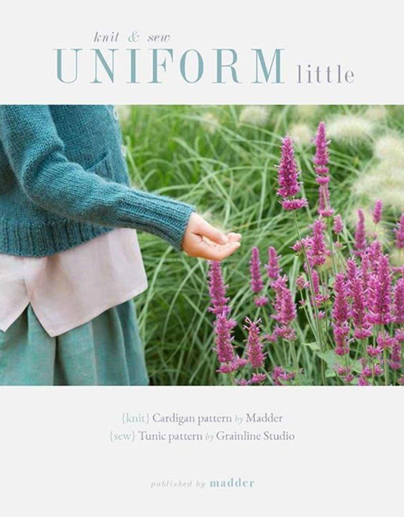 Madder Uniform Little - Knit and Sew Book