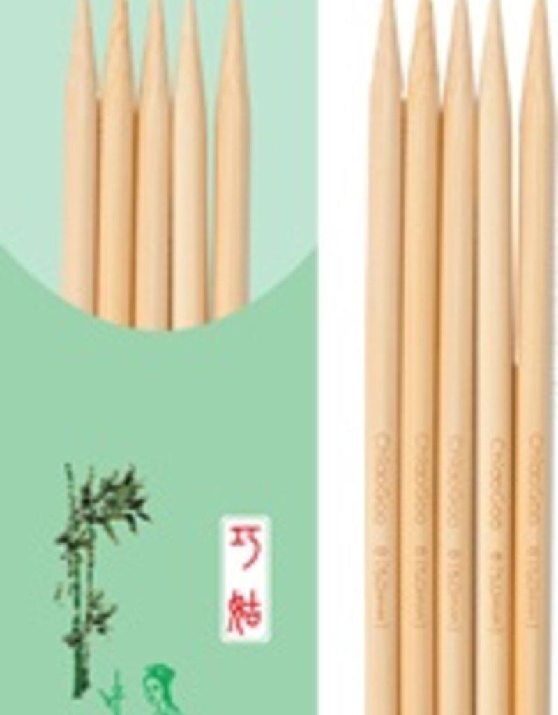 "ChiaoGoo ChiaoGoo 5"" Natural Bamboo Double Pointed Needles"