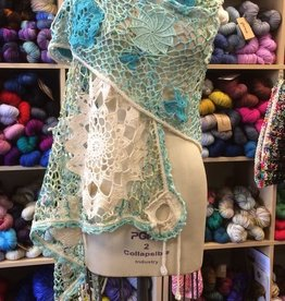 Motif Lace Shawl<br /> Saturdays, June 9, 23, &amp; July 7th 3-5pm