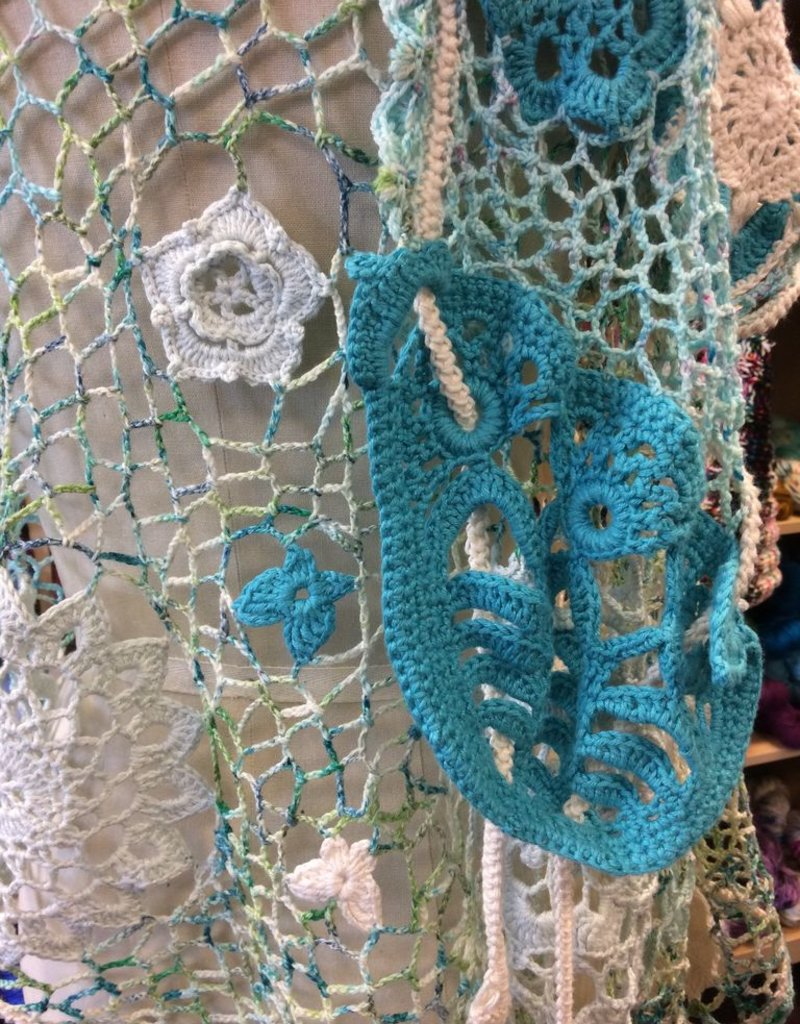 Motif Lace Shawl<br /> Saturdays, June 9, 23, &amp; July 7th 3-5pm