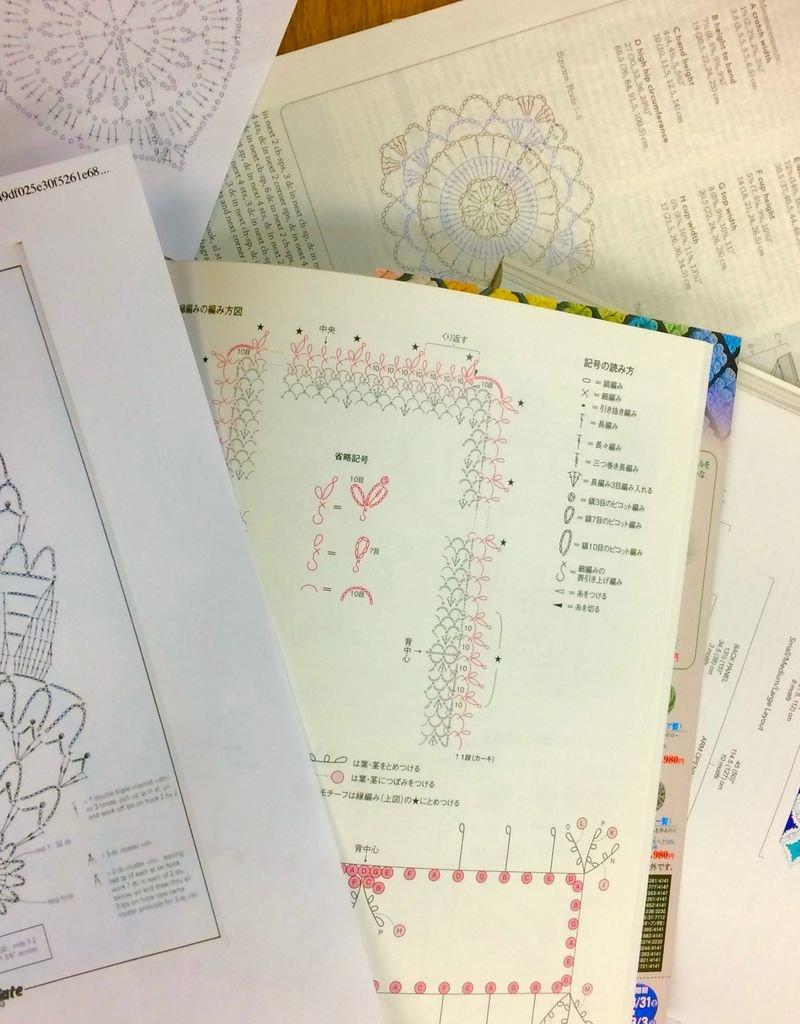 Skill Builder: Reading Crochet Charts<br /> Saturday, June 30th, 1-2pm