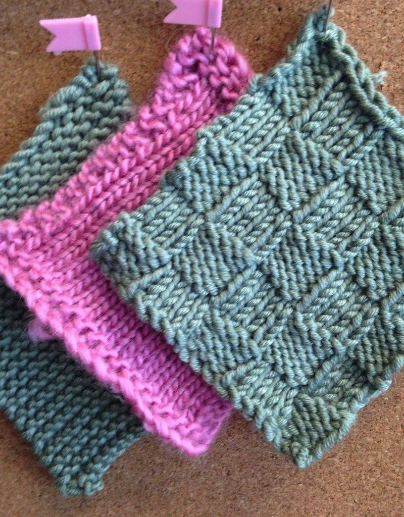 September Knitting 101 (Beginning Knitting) Tuesdays September 11 & 18th, 6-7:30pm