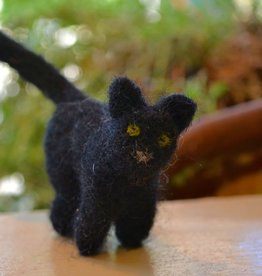 Needle Felt: Black Cat <br /> Saturday, September 8th, 2-4pm