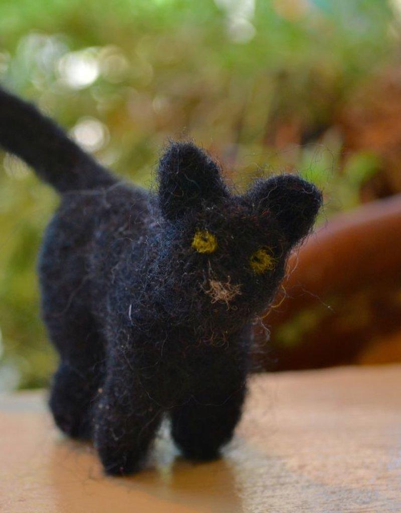 Needle Felt: Black Cat <br /> Saturday, September 8th, 2-4pm