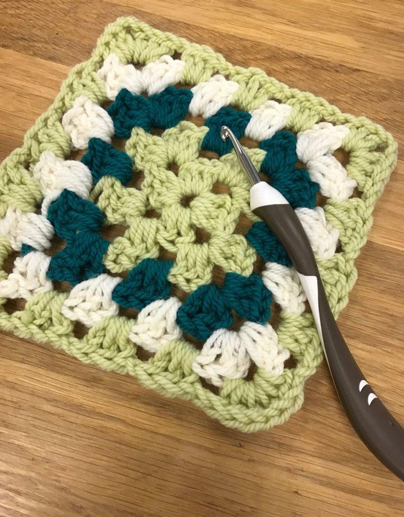 Sept. Beginning Crochet<br /> Wednesdays, September 12 &amp; 19th, 5-7pm