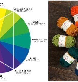 Color Theory Sit & Stitch,  Friday, October 19th
