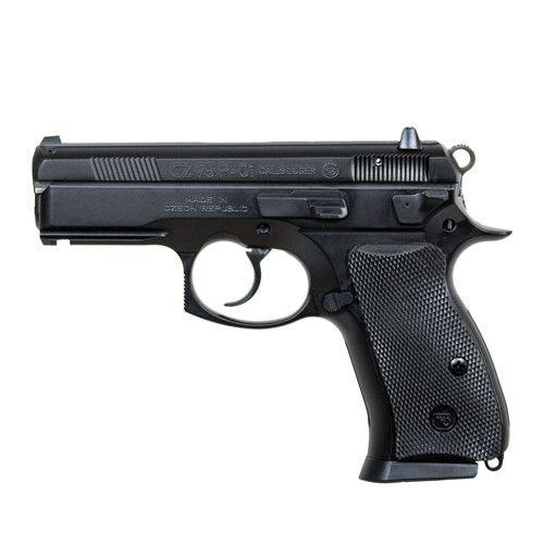 """CZ-USA CZ-USA 75 P-01 9MM 3.7"""" Black CA"""