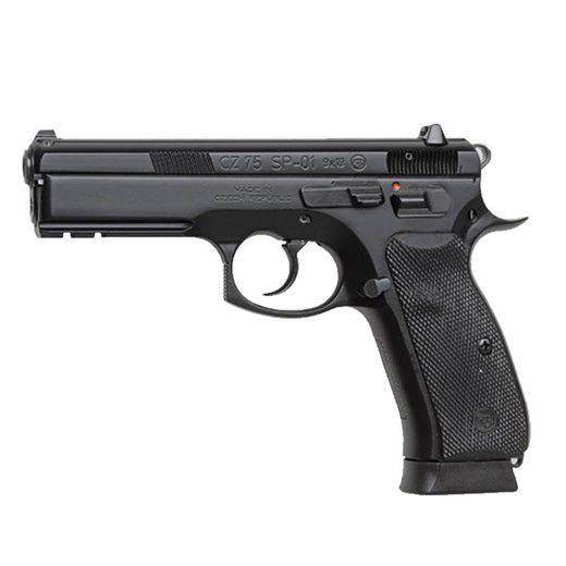"CZ-USA CZ-USA 75 SP-01 9MM 4.7"" Black CA"