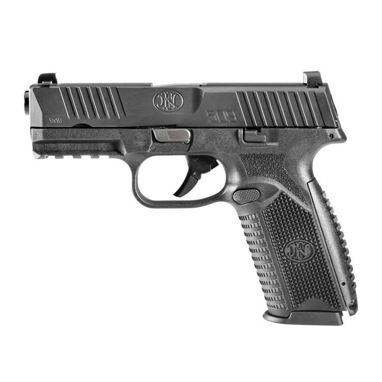 "FN America FN 509 9MM 4"" 17Rd Fixed Sights Black"