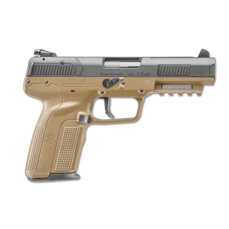"FN America FN Five-SeveN 5.7x28MM 4.75"" 10Rd FDE CA"