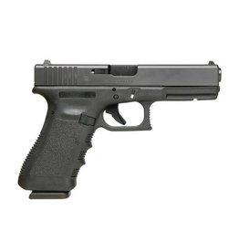 "Glock Glock 17 Gen3 9MM 4.48"" 10Rd Fixed Sights Black CA"