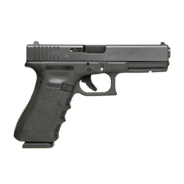 "Glock Glock 17 Gen3 9MM 4.48"" 10Rd Fixed Sights Black CA"
